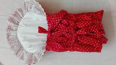 Textil - Perinka na želanie - podlhovastá - 7728427_