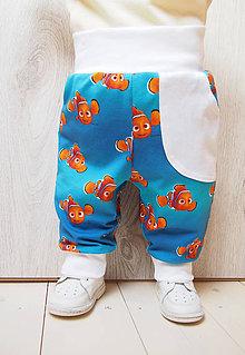 Detské oblečenie - Pohodlné tepláky -úpletové - 7729930_
