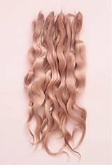 Materiál ručne robený - Vlasy pre bábiky - Ivory - 7729938_