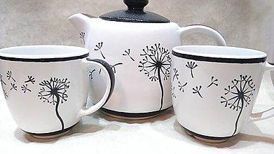 Nádoby - Sada na čaj Púpava - 7727494_