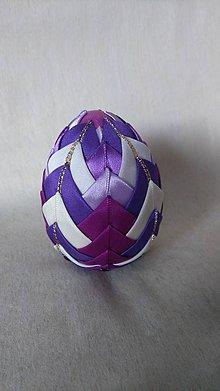Dekorácie - Veľkonočné patchworkové vajíčko_7 - 7727538_