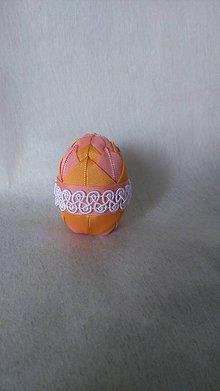 Dekorácie - Veľkonočné patchworkové vajíčko_9 - 7727554_