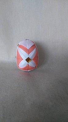 Dekorácie - Veľkonočné patchworkové vajíčko_11 - 7727590_