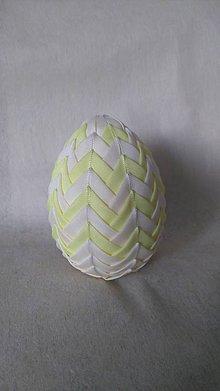 Dekorácie - Veľkonočné patchworkové vajíčko_12 - 7727594_