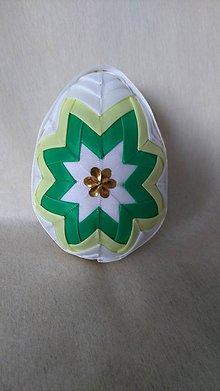 Dekorácie - Veľkonočné patchworkové vajíčko_13 - 7727597_