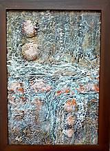 Obrazy - Bystrina lesnej žienky - 7730265_