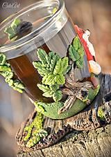 Nádoby - Čaj v lese - hrnček na čaj s líškou - 7729335_