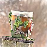 Nádoby - Čaj v lese - hrnček na čaj s líškou - 7729350_
