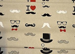Textil - metráž-režná fúzy - 7730001_