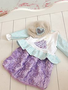 Detské oblečenie - Sukienka-Spring Little Bunny - 7728279_
