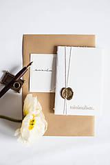 Papiernictvo - minimalism. Notes A6 - 7730992_
