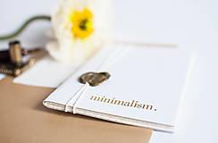 Papiernictvo - minimalism. Notes. A6 / line - 7731027_