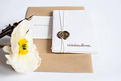 Papiernictvo - minimalism. Notes. A6 / line - 7731028_