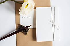 Papiernictvo - minimalism. Notes. A6 / line - 7731030_