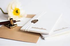 Papiernictvo - minimalism. Notes. A6 / line - 7731033_