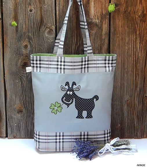 Nákupná taška - capko záhradník