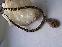 Náhrdelníky - Orgonit-etno náhrdelník - 7729685_