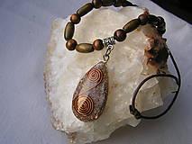 Náhrdelníky - Orgonit-etno náhrdelník - 7729687_
