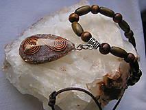 Náhrdelníky - Orgonit-etno náhrdelník - 7729695_