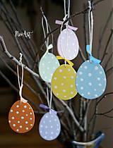 Dekorácie - Veľkonočné vajíčka Sada Pure Pastel - 7733657_