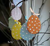 Dekorácie - Veľkonočné vajíčka Sada Pure Pastel - 7733661_