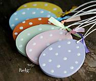 Dekorácie - Veľkonočné vajíčka Sada Pure Pastel - 7733662_
