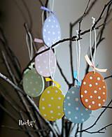 Dekorácie - Veľkonočné vajíčka Sada Pure Pastel - 7733663_