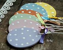 Dekorácie - Veľkonočné vajíčka Sada Pure Pastel - 7733664_