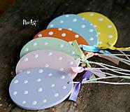 Dekorácie - Veľkonočné vajíčka Sada Pure Pastel - 7733665_
