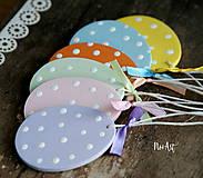 Dekorácie - Veľkonočné vajíčka Sada Pure Pastel - 7733666_