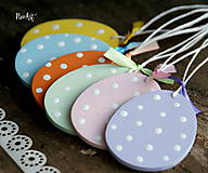 Dekorácie - Veľkonočné vajíčka Sada Pure Pastel - 7733667_