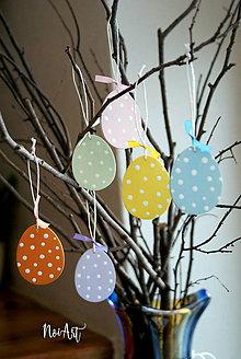Dekorácie - Veľkonočné vajíčka Sada Pure Pastel - 7733658_