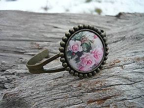 Náramky - Náramek Romantic Roses - 7732269_