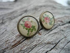 Náušnice - Náušnice Romantic Roses - 7735212_