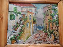 Obrazy - Talianska ulička - 7733463_
