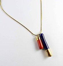 Náhrdelníky - Tana šperky - keramika/zlato, 3 v 1 - 7731917_