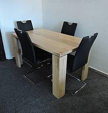 Nábytok - Jedálenský stôl z masívneho dreva - 7734174_