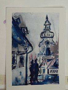 Obrazy - rande v podvečer, Banská Štiavnica - 7731714_
