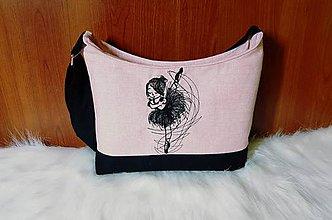 Detské tašky - Kabelka baletka 2 - 7735108_