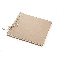 Papiernictvo - Svadobný fotoalbum Jute 30x40 cm/80 strán - 7732302_