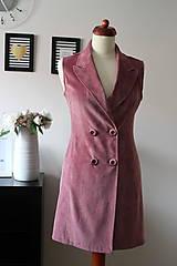 Iné oblečenie - Ružová vesta - 7735421_