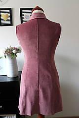 Iné oblečenie - Ružová vesta - 7735430_