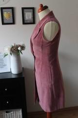 Iné oblečenie - Ružová vesta - 7735433_