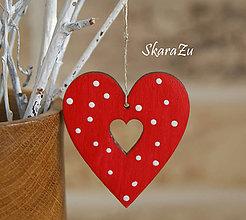 Dekorácie - Heart dots - 7735697_