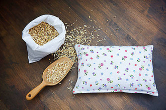 Úžitkový textil - Špaldový vankúš 20 x 30 cm - 7731574_