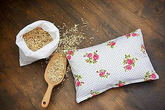 Úžitkový textil - Špaldový vankúš 20 x 30 cm - 7733263_