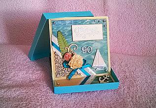 Papiernictvo - Pohľadnica Jubilejná - S jachtou (so stojanom) - 7735838_