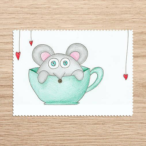 Roztomilosť v hrnčeku - zvieratko myš