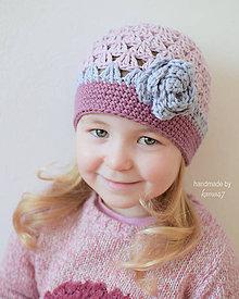Detské čiapky - Jarná - prechodná čiapka ... \