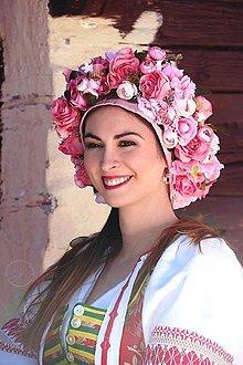 Ozdoby do vlasov - folková parta by michelle flowers - 7736708_
